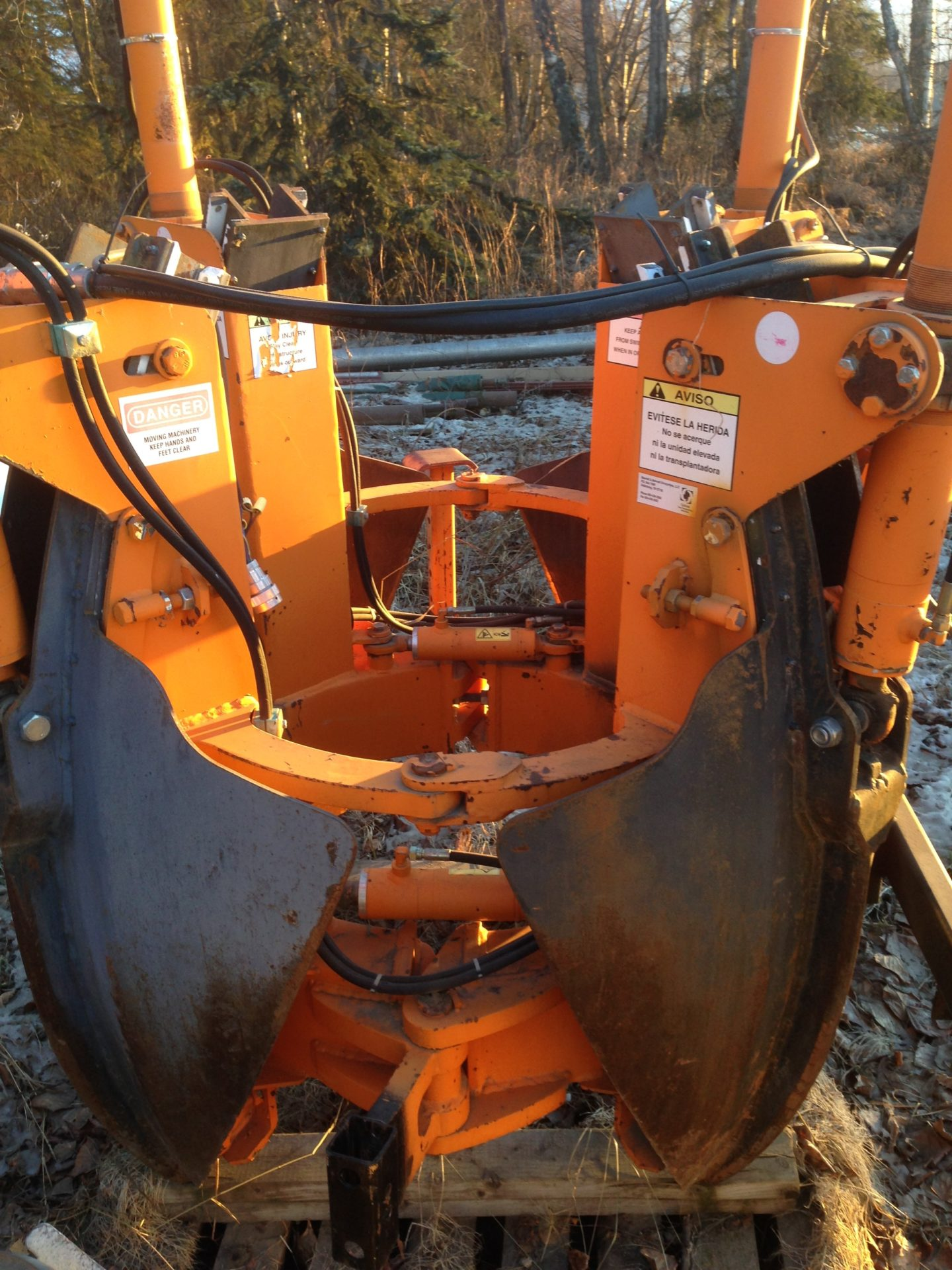 Optimal 1100 tree spade $14500 For skid steer or loader. Please call for more information. 745-0800